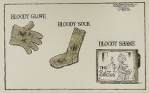 Image of Bloody glove - Bloody sock - Bloody shame - Gorrell, Bob, 1955-